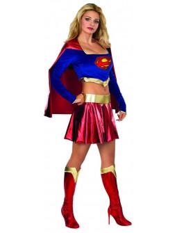 Disfraz de Supergirl con Top para Mujer