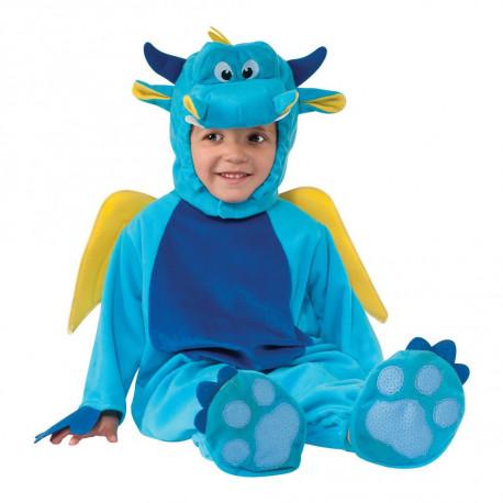 Disfraz de Dragón Azul Infantil