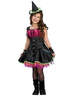 Disfraz de Bruja Negra para Niña