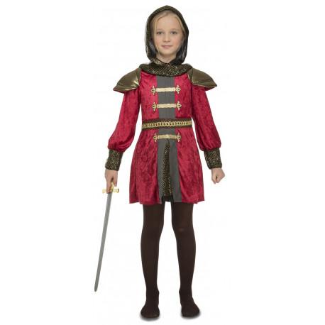 Disfraz de Guerrera Medieval para Niña
