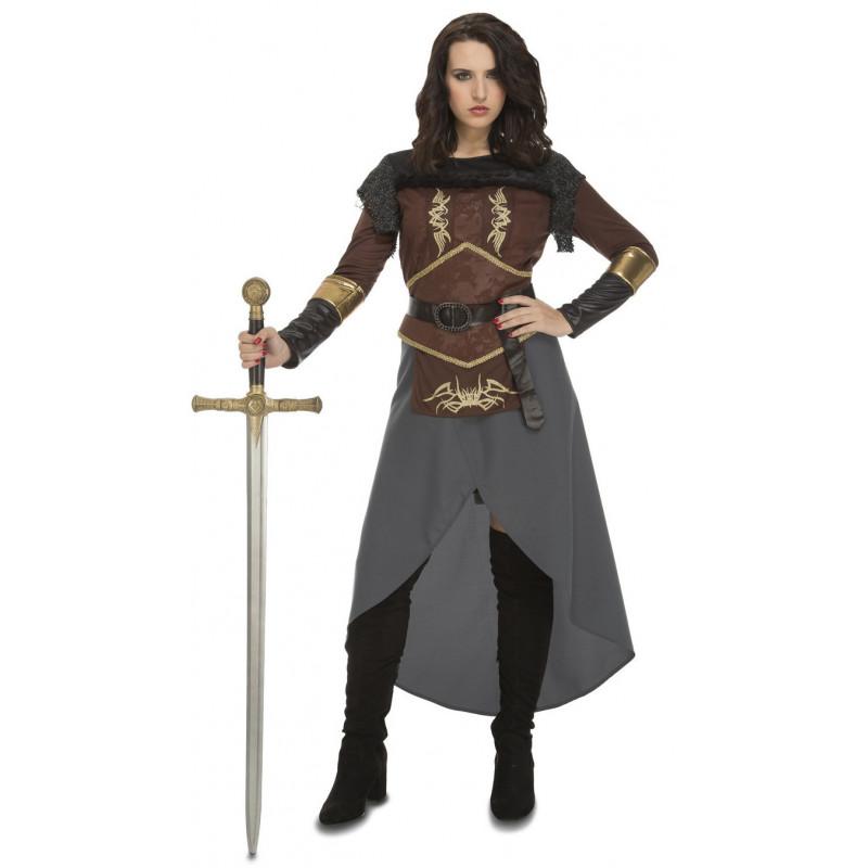 b1f660824 Disfraz de Princesa Guerrera Medieval para Mujer