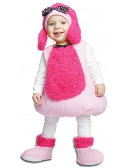 Disfraz de Perrita Poodle Rosa Infantil