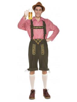Disfraz de Alemán Oktoberfest para Hombre