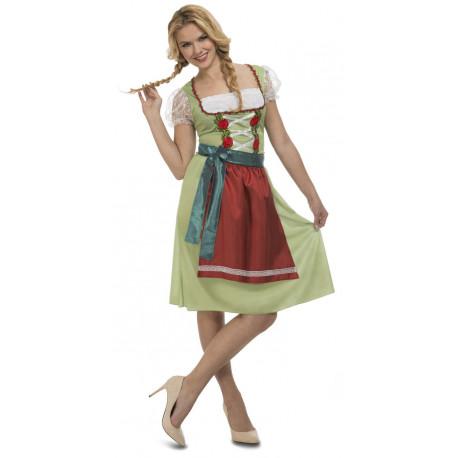 Disfraz de Alemana Oktoberfest para Mujer