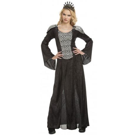 Disfraz de Reina Cersei Negro para Mujer