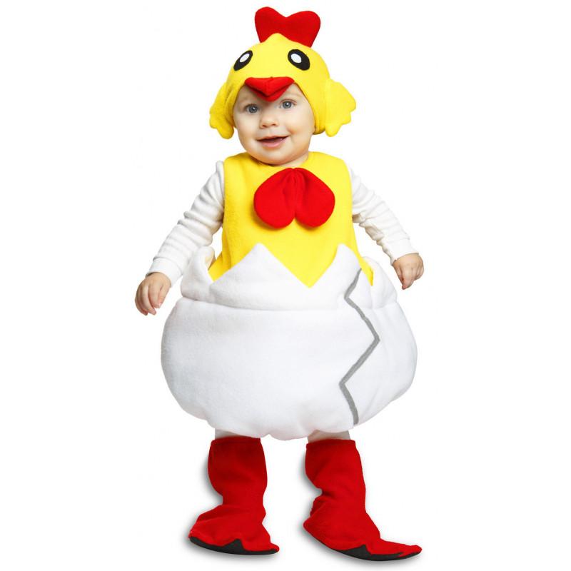 Disfraz de Pollito en Huevo para Niños  95283d8e7a6