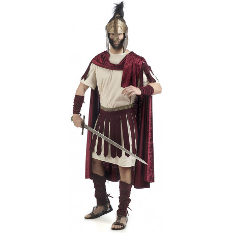 Disfraz de Guerrero Romano con Capa para Hombre