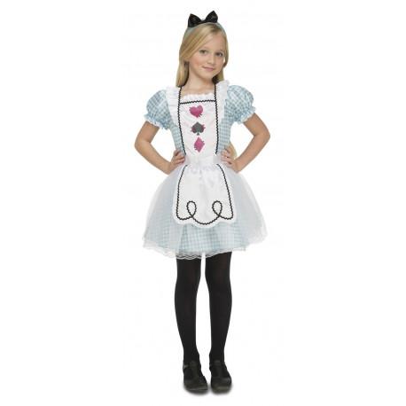 Disfraz de Alicia en el País de Maravillas para Niña