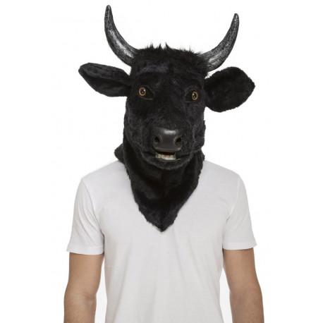 Máscara de Toro con Mandíbula Móvil