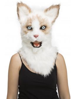 Máscara de Gato con Mandíbula Móvil