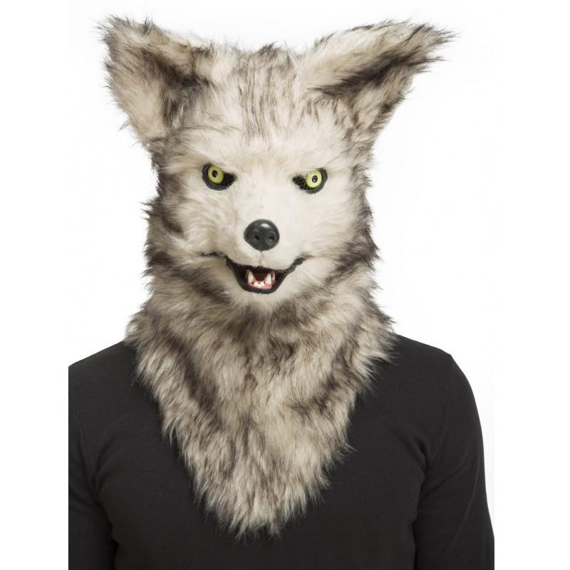 80674c4a758 Máscara de Lobo con Mandíbula Móvil