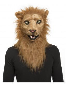 Máscara de León con Mandíbula Móvil