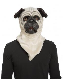 Máscara de Perro Carlino con Mandíbula Móvil