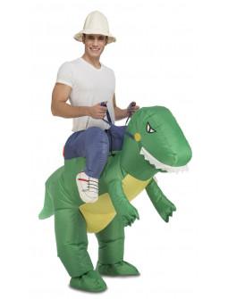Disfraz a Hombros de Dinosaurio Hinchable