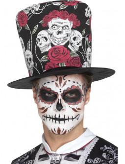 Sombrero de Copa Día de los Muertos