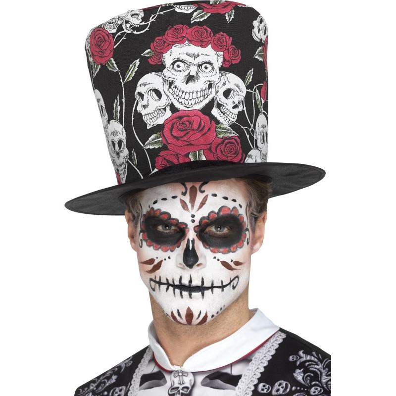 Sombrero de Copa Día de los Muertos  d18a4ed1aca1