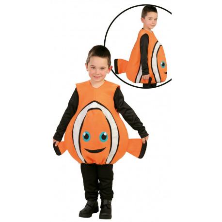 Disfraz de Pez Payaso Nemo para Niño