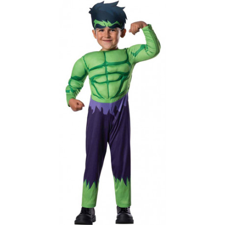 Disfraz de Hulk para Bebé