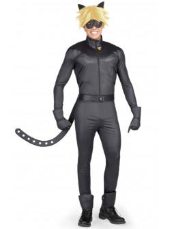 Disfraz de Cat Noir para Adulto con Accesorios