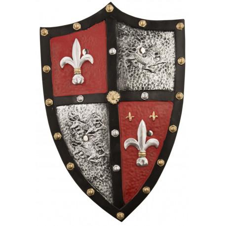 Escudo de Flor de Lys y León