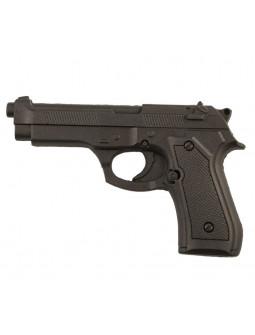 Pistola Negra Efecto Real de Foam