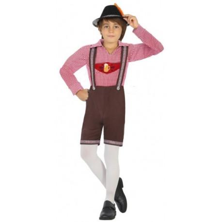 Disfraz Tirolés Oktoberfest para Niño