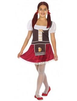 Disfraz de Tirolesa Oktoberfest para Niña