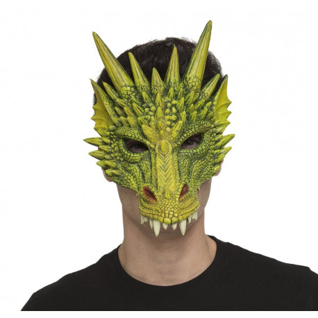 Máscara de Dragón Verde
