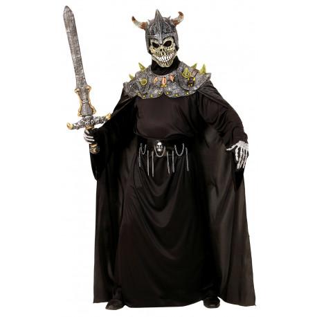 Disfraz de Esqueleto Vikingo con Máscara