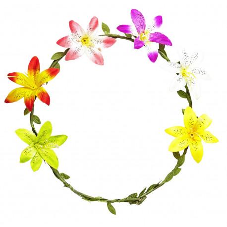 Diadema de Flores Coloridas