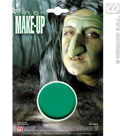 Pintura verde Make-Up