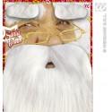 Barba con con pestañas de Santa
