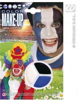 Maquillaje tricolor