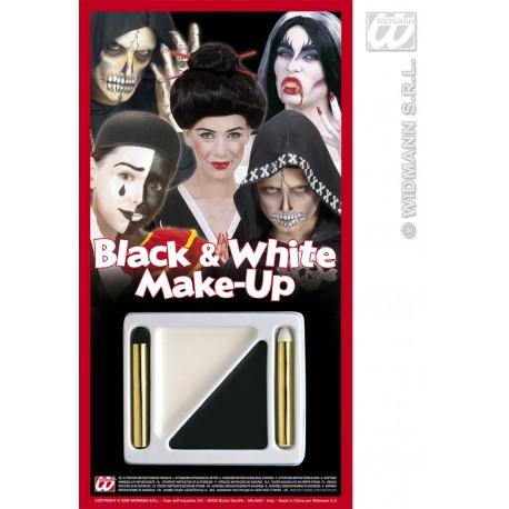 Maquillaje y pintura - Blanco y Negro