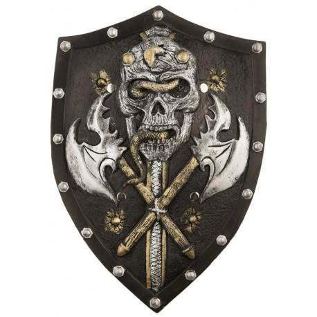 Escudo Vikingo Negro Premium