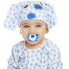 Disfraz de Perrito Azul para Bebé con Chupete
