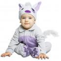 Disfraz de Gatito para Bebé con Chupete