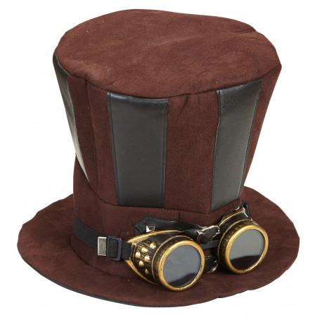 Chistera de Steampunk con Gafas