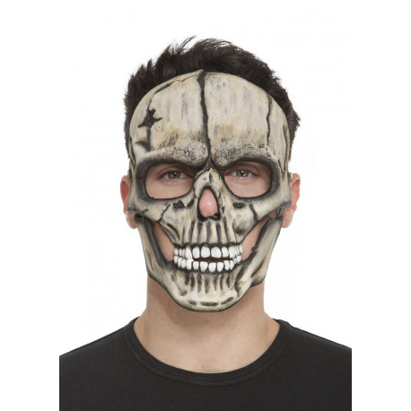 Media Máscara de Calavera de Foam