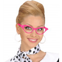 Gafas Blancas Años 50 con Brillantes