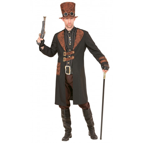 Disfraz de Steampunk Elegante para Hombre