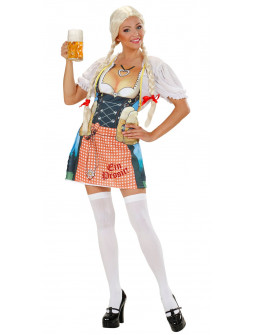 Delantal Bábaro de Oktoberfest para Mujer