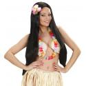 Collar Hawaiano de Flores Multicolor