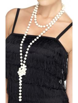 Collar de Perlas Blancas Largo