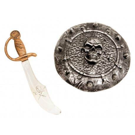 Espada Pirata con Escudo
