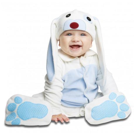 Disfraz de Conejito Azul para Bebé con Chupete