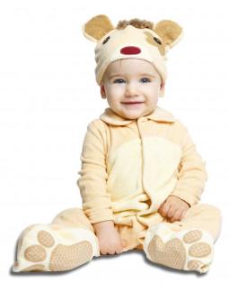 Disfraz de Osito para Bebé con Chupete