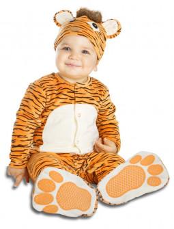 Disfraz de Tigre para Bebé con Chupete