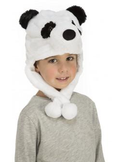 Gorro de Osito Panda Infantil