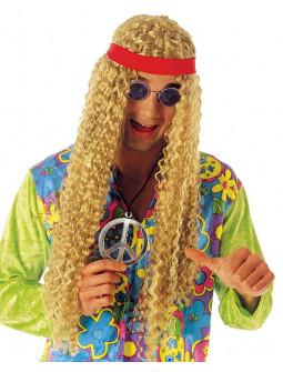 Peluca Rubia de Hippie